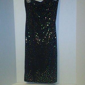 Charlotte Russe Ladies Long Glitter Skirt